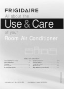 Frigidaire Ffre1533s1 Manual Downloads